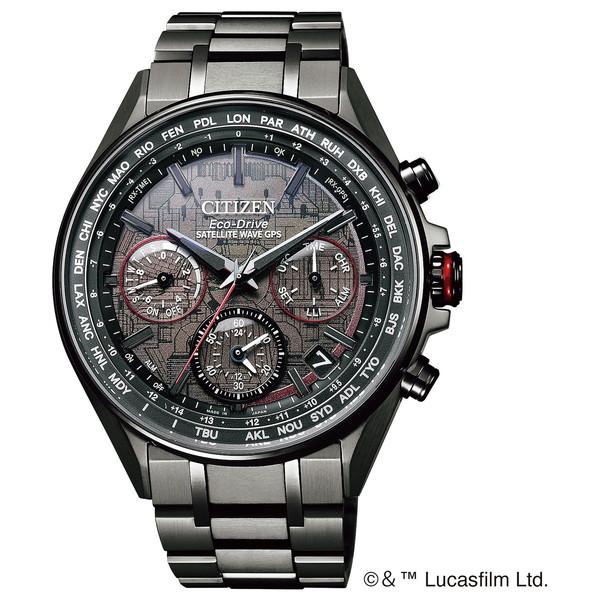 CITIZEN(シチズン) CC4006-61E アテッサ スター・ウォーズ限定モデル「ダース・ベイダーモデル」 [エコ・ドライブGPS衛星電波腕時計(メンズ)]