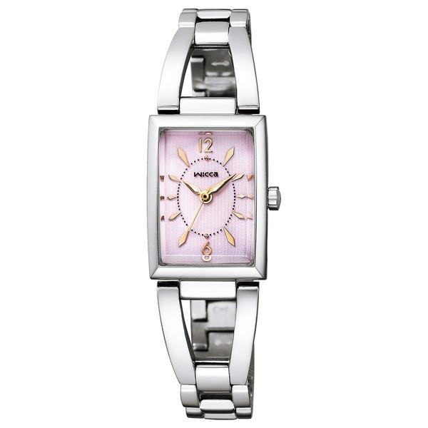 CITIZEN(シチズン) KF7-511-91 ウィッカ スクエアソーラー [ソーラーテック腕時計(レディース)]