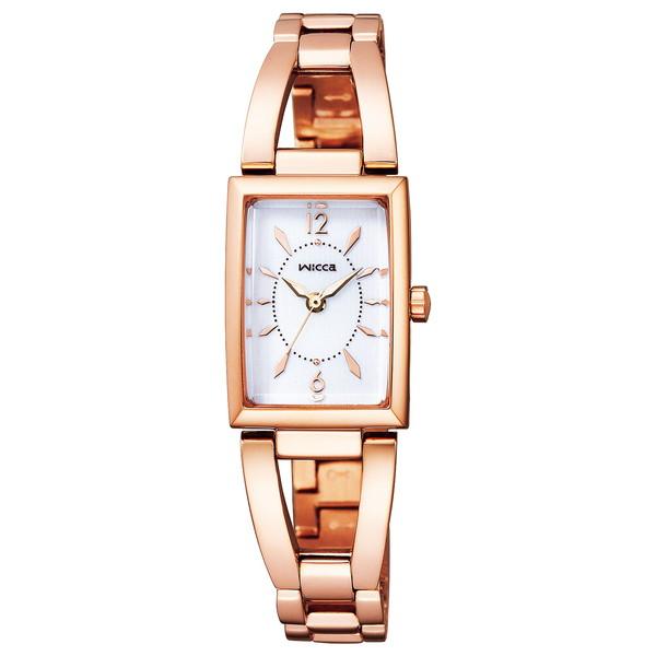 CITIZEN(シチズン) KF7-562-11 ウィッカ スクエアソーラー [ソーラーテック腕時計(レディース)]