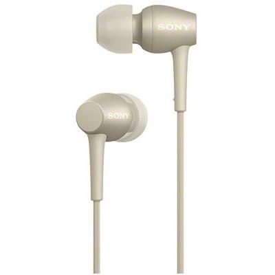 【送料無料】 SONY (ソニー) IER-H500A N ペールゴールド金 h.ear in 2 [ダイナミック密閉型カナルイヤホン(マイク&コントローラー搭載・ハイレゾ対応)] スマホ対応 ハンズフリー通話 誕生日 贈り物