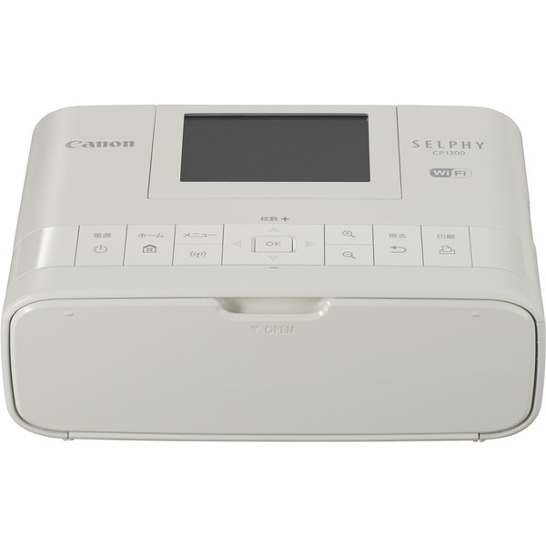 【送料無料】CANON CP1300 (WH) ホワイト SELPHY(セルフィー) [コンパクトフォトプリンター]