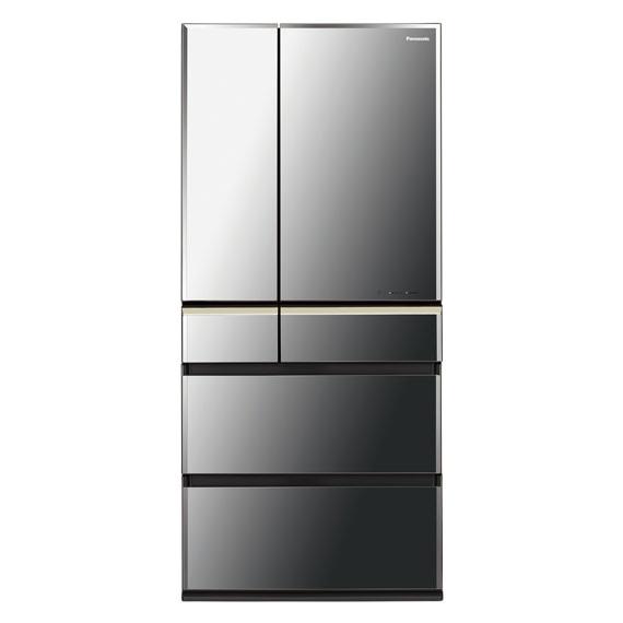 【送料無料】PANASONIC NR-F673WPV-X オブシディアンミラー エコナビ [冷蔵庫 (665L・6ドア・フレンチドア)]