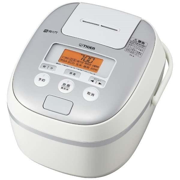 【送料無料】TIGER JPE-A100-W ホワイト 炊きたて [IH炊飯器(5.5合炊き)]