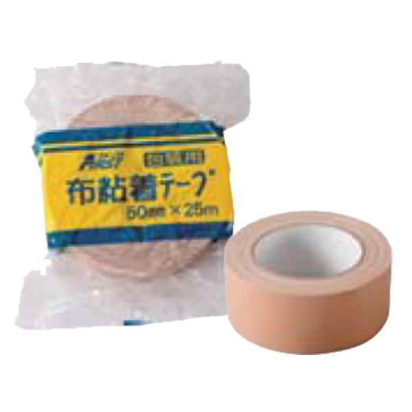 水上 【日本製】 ファースト 布粘着テープ 100mm×25m [18巻入] 【0355-00105】