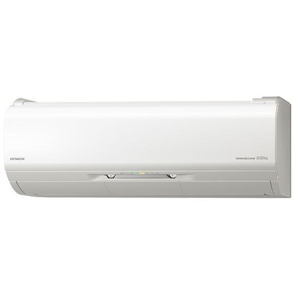 【送料無料】日立 RAS-X25J スターホワイト ステンレス・クリーン 白くまくん プレミアムXシリーズ [エアコン (主に8畳用)]