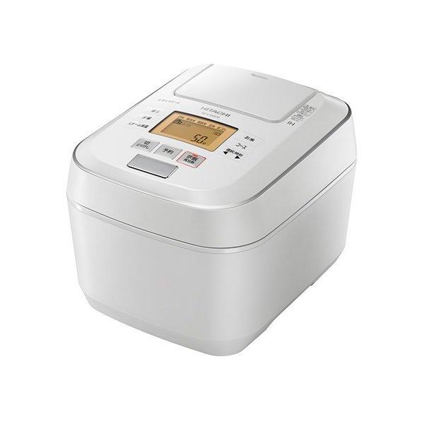 日立 RZ-V100CM-W パールホワイト ふっくら御膳 [圧力スチームIHジャー炊飯器 (5.5合炊き)]