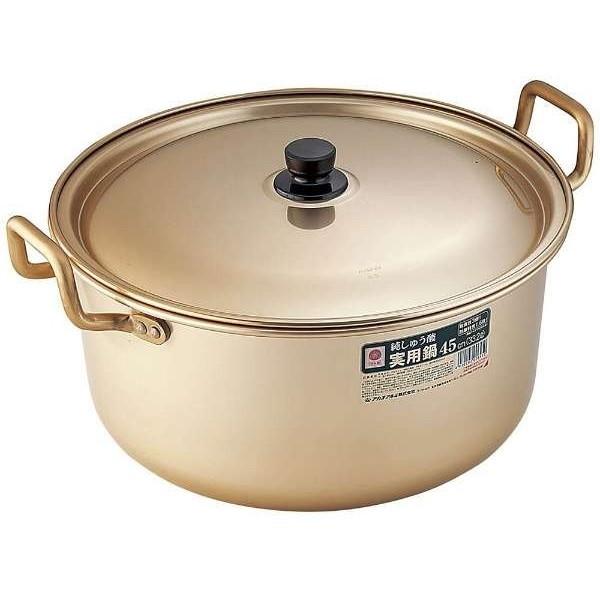 アカオアルミ しゅう酸実用鍋 45cm