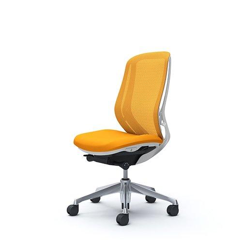 オフィスチェア デスクチェア オカムラ シルフィー 肘なし 背メッシュ ハイ C635BWFMR8 オレンジ ワークチェア パソコンチェア 椅子 事務椅子 イス おしゃれ 在宅ワーク テレワーク 在宅勤務 リモートワーク
