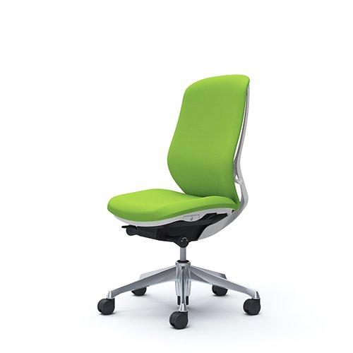 オフィスチェア デスクチェア オカムラ シルフィー 肘なし 背クッション ハイ C637BWFSF5 ライムグリーン ワークチェア パソコンチェア 事務椅子 イス おしゃれ 在宅ワーク テレワーク 在宅勤務 リモートワーク