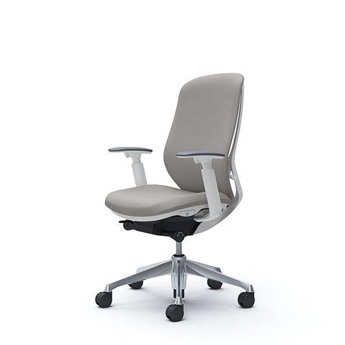 オフィスチェア デスクチェア オカムラ シルフィー 可動肘 背クッション ハイ C687BWFSG3 ライトグレー ワークチェア パソコンチェア 事務椅子 イス おしゃれ 在宅ワーク テレワーク 在宅勤務 リモートワーク