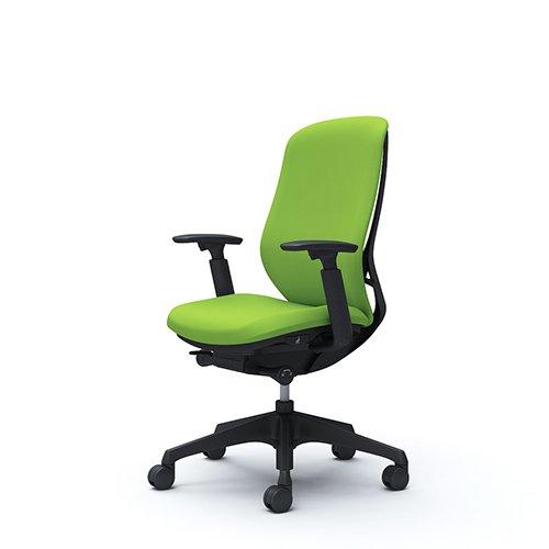 オフィスチェア デスクチェア オカムラ シルフィー 可動肘 背クッション ハイ C687XRFSF5 ライムグリーン ワークチェア パソコンチェア 事務椅子 イス おしゃれ 在宅ワーク テレワーク 在宅勤務 リモートワーク