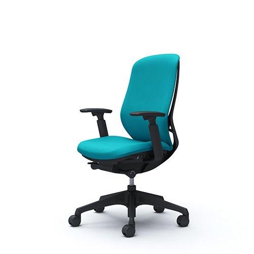 オフィスチェア デスクチェア オカムラ シルフィー 可動肘 背クッション ハイ C687XRFSG6 ブルーグリーン ワークチェア パソコンチェア 事務椅子 イス おしゃれ 在宅ワーク テレワーク 在宅勤務 リモートワーク