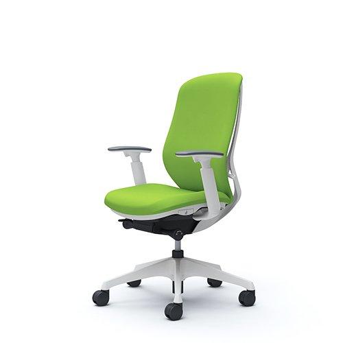 オフィスチェア デスクチェア オカムラ シルフィー 可動肘 背クッション ハイ C687XWFSF5 ライムグリーン ワークチェア パソコンチェア 事務椅子 イス おしゃれ 在宅ワーク テレワーク 在宅勤務 リモートワーク