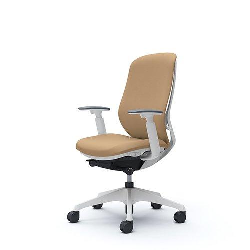 オフィスチェア デスクチェア オカムラ シルフィー 可動肘 背クッション ハイ C687XWFSF7 ベージュ ワークチェア パソコンチェア 事務椅子 イス おしゃれ 在宅ワーク テレワーク 在宅勤務 リモートワーク
