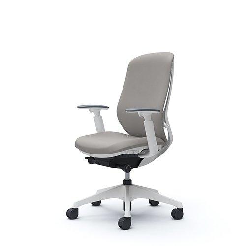 オフィスチェア デスクチェア オカムラ シルフィー 可動肘 背クッション ハイ C687XWFSG3 ライトグレー ワークチェア パソコンチェア 事務椅子 イス おしゃれ 在宅ワーク テレワーク 在宅勤務 リモートワーク