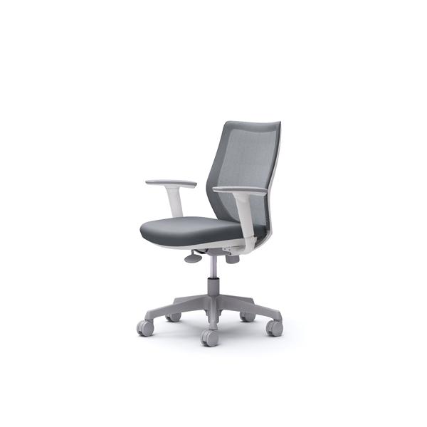 オフィスチェア デスクチェア オカムラ CG-M 可動肘 背メッシュ ハンガー無 CG91WRFZK2 グレー ワークチェア パソコンチェア 事務椅子 イス おしゃれ 在宅ワーク テレワーク 在宅勤務 リモートワーク