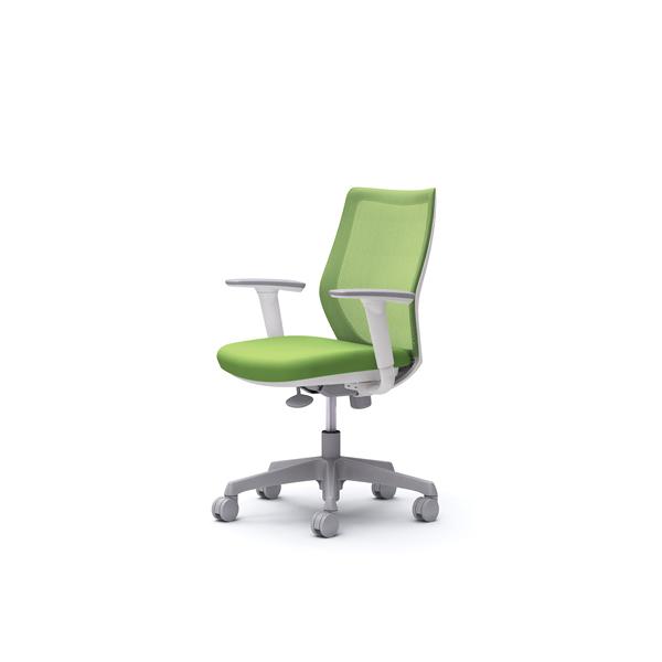 オフィスチェア デスクチェア オカムラ CG-M 可動肘 背メッシュ ハンガー無 CG91WRFZK5 ライムグリーン ワークチェア パソコンチェア 事務椅子 イス おしゃれ 在宅ワーク テレワーク 在宅勤務 リモートワーク