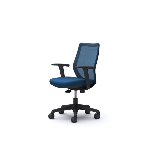オフィスチェア デスクチェア オカムラ CG-M 可動肘 背メッシュ ハンガー無 CG91ZRFZK3 ミディアムブルー ワークチェア パソコンチェア 事務椅子 イス おしゃれ 在宅ワーク テレワーク 在宅勤務 リモートワーク