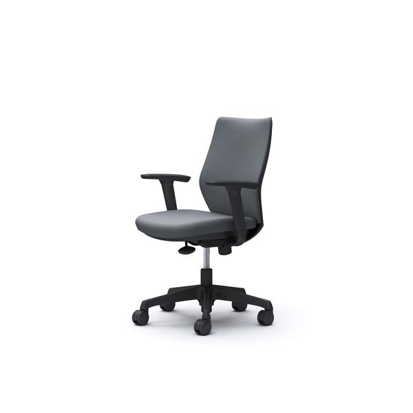 オフィスチェア デスクチェア オカムラ CG-M 可動肘 背パッド ハンガー無 CG97ZRFM37 グレー ワークチェア パソコンチェア 事務椅子 イス おしゃれ 在宅ワーク テレワーク 在宅勤務 リモートワーク