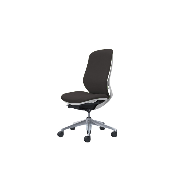 オフィスチェア デスクチェア オカムラ シルフィー 肘なし 背クッション ハイ C637BWFXW3 ダークブラウン ワークチェア パソコンチェア 事務椅子 イス おしゃれ 在宅ワーク テレワーク 在宅勤務 リモートワーク