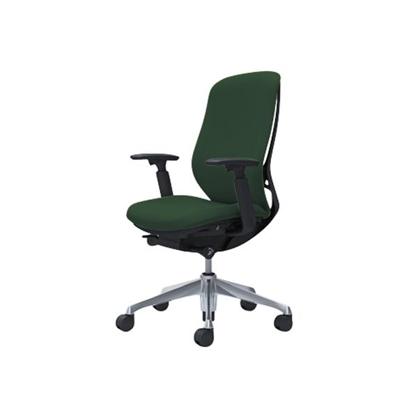 オフィスチェア デスクチェア オカムラ シルフィー 可動肘 背クッション ハイ C687BRFXW5 ダークグリーン ワークチェア パソコンチェア 事務椅子 イス おしゃれ 在宅ワーク テレワーク 在宅勤務 リモートワーク