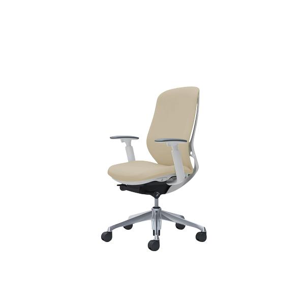 オフィスチェア デスクチェア オカムラ シルフィー 可動肘 背クッション ハイ C687BWFXW2 ベージュ ワークチェア パソコンチェア 事務椅子 イス おしゃれ 在宅ワーク テレワーク 在宅勤務 リモートワーク
