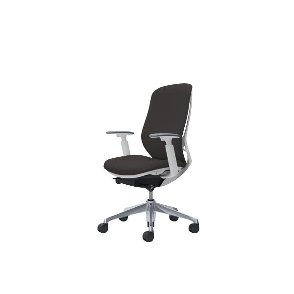 オフィスチェア デスクチェア オカムラ シルフィー 可動肘 背クッション ハイ C687BWFXW3 ダークブラウン ワークチェア パソコンチェア 事務椅子 イス おしゃれ 在宅ワーク テレワーク 在宅勤務 リモートワーク