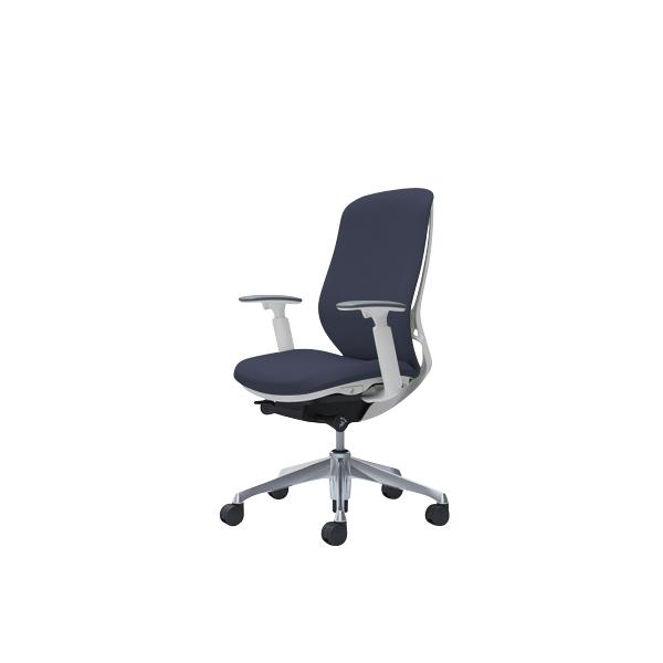 オフィスチェア デスクチェア オカムラ シルフィー 可動肘 背クッション ハイ C687BWFXW4 インディゴ ワークチェア パソコンチェア 事務椅子 イス おしゃれ 在宅ワーク テレワーク 在宅勤務 リモートワーク