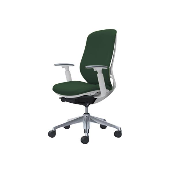 オフィスチェア デスクチェア オカムラ シルフィー 可動肘 背クッション ハイ C687BWFXW5 ダークグリーン ワークチェア パソコンチェア 事務椅子 イス おしゃれ 在宅ワーク テレワーク 在宅勤務 リモートワーク