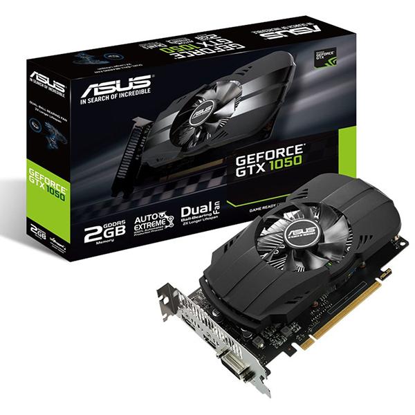 【送料無料】ASUS PH-GTX1050-2G [PCI-Express 3.0対応 グラフィックスボード 2GB]