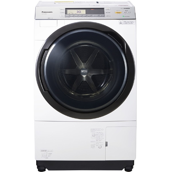 【送料無料】PANASONIC NA-VX7800L クリスタルホワイト VXシリーズ [ななめ型 ドラム式洗濯乾燥機 (洗濯10.0kg/乾燥6.0kg)左開き 洗濯槽自動お掃除 ヒートポンプ乾燥機能付 ]