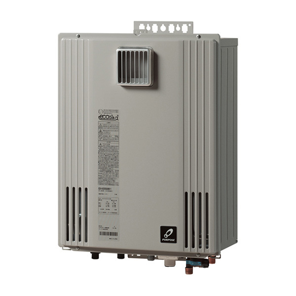 パーパス GX-H2000ZW-1-LP ハーモニアスグレー エコジョーズ GXシリーズ [ガスふろ給湯器 (LPガス・20号・フルオート・屋外壁掛形)] 【20号】 設置工事 工事 可 取替 取り替え 交換