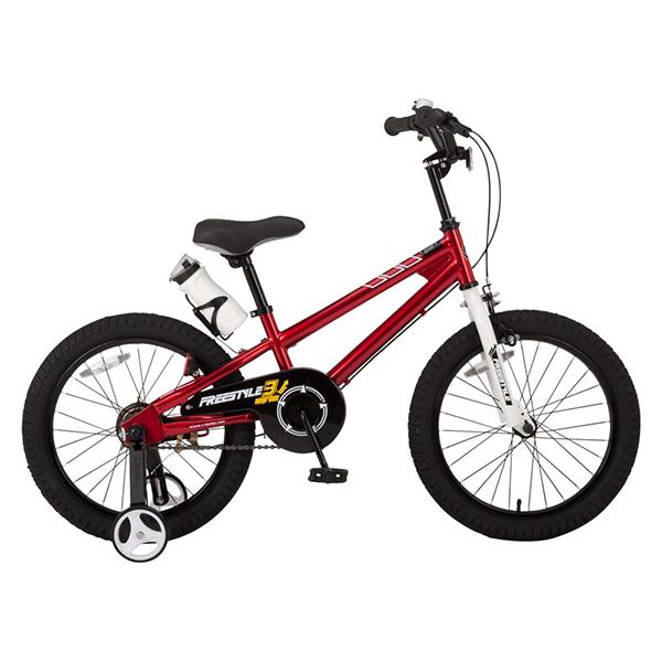 【送料無料】ROYAL BABY RB-WE FREESTYLE 14 red (35960) [子供用自転車(14インチ)補助輪付き]【同梱配送不可】【代引き不可】【沖縄・北海道・離島配送不可】