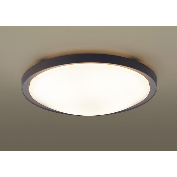 PANASONIC LGBZ5241 ダークブラウン [LEDシーリングライト(~20畳/調色・調光) リモコン付き]