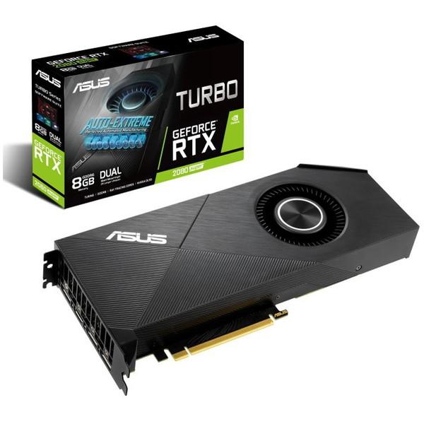 ASUS TURBO-RTX2080S-8G-EVO [ビデオカード(GeForce RTX 2080S 搭載)]