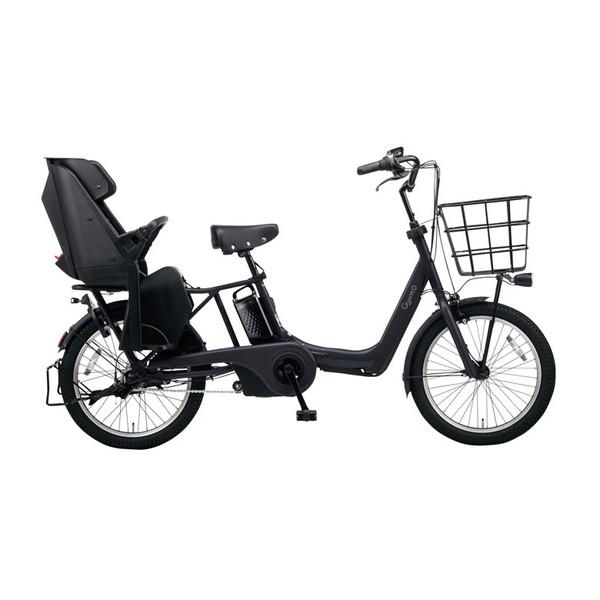 PANASONIC BE-ELAD032-B マットジェットブラック ギュット・アニーズ・DX [電動アシスト自転車(20インチ・内装3段変速)]【同梱配送不可】【代引き・後払い決済不可】【本州以外配送不可】
