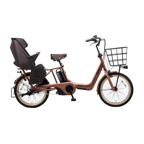 PANASONIC BE-ELAD032-T マットフォースブラウン ギュット・アニーズ・DX [電動アシスト自転車(20インチ・内装3段変速)]【同梱配送不可】【代引き・後払い決済不可】【本州以外配送不可】