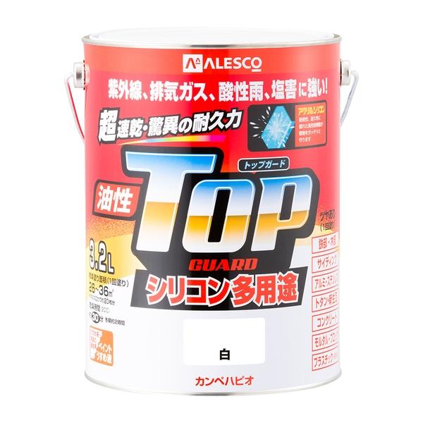 カンペハピオ 油性トップガード 白 3.2L