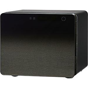 エーコー ICB-020GK ブラック [耐火金庫(20L/1時間耐火/タッチパネルテンキー式)]