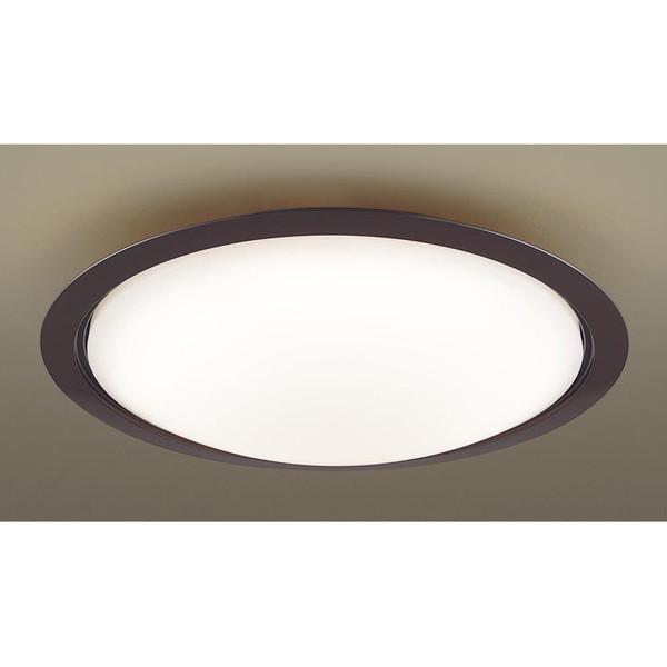 PANASONIC LGBZ3422 ダークブラウン [LEDシーリングライト(~12畳/調色・調光) リモコン付き]