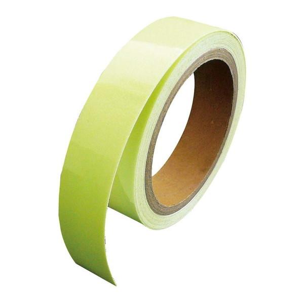 LTI SAF2505 スーパーα-FLASH [高輝度蓄光テープ(幅25mm×5m)]