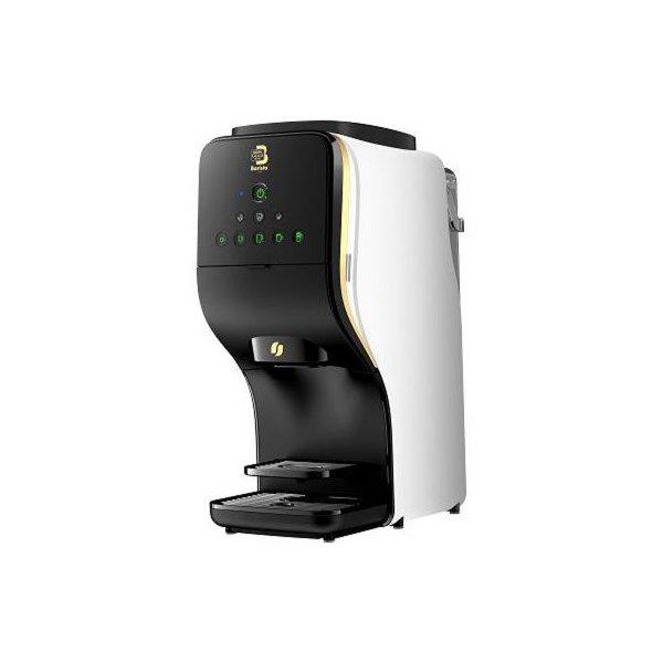 誰でも簡単に ワンタッチで本格的なラテを作れます ネスレ 年末年始大決算 HPM9637-PW ネスカフェ ゴールドブレンド バリスタ Duo プレミアムホワイト コーヒーメーカー コーヒー 専用アプリ おうちカフェ 8種類 ワンタッチ bluetooth搭載 カスタマイズ 自分好み お得クーポン発行中 在宅 プロの味 珈琲