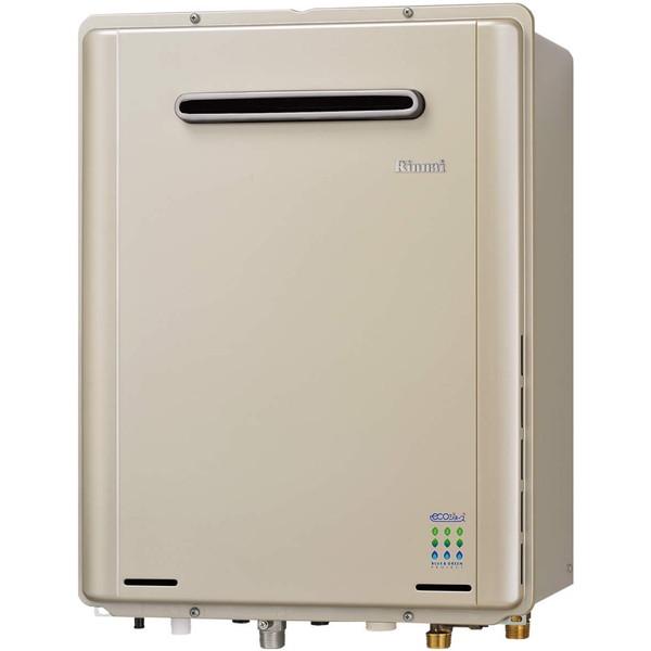 【送料無料】Rinnai RUF-E2405SAW(A)-LP シャンパンメタリック エコジョーズ [ガス給湯器(プロパンガス用)屋外壁掛型 オート 24号] 【24号】 設置工事 工事 可 取替 取り替え 交換
