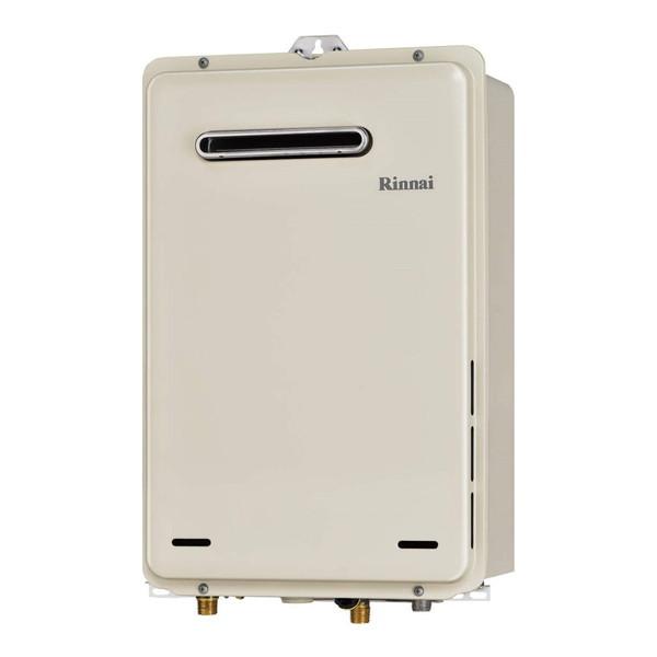Rinnai RUX-A1015W-E-LP 給湯専用 [ガス給湯器(プロパンガス用) 屋外壁掛・PS設置型 10号] 【10号】 設置工事 工事 可 取替 取り替え 交換