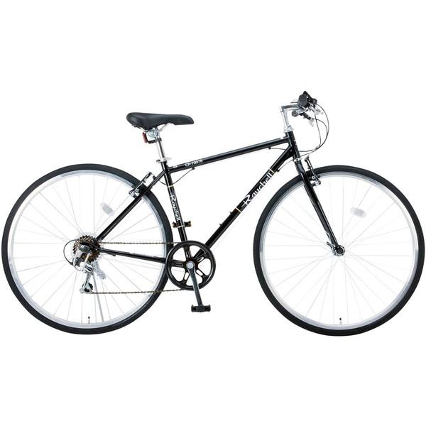 【送料無料】Raychell CR-7007R ブラック (35652) [クロスバイク (700×28C・シマノ7段変速)]【同梱配送不可】【代引き不可】【沖縄・離島配送不可】