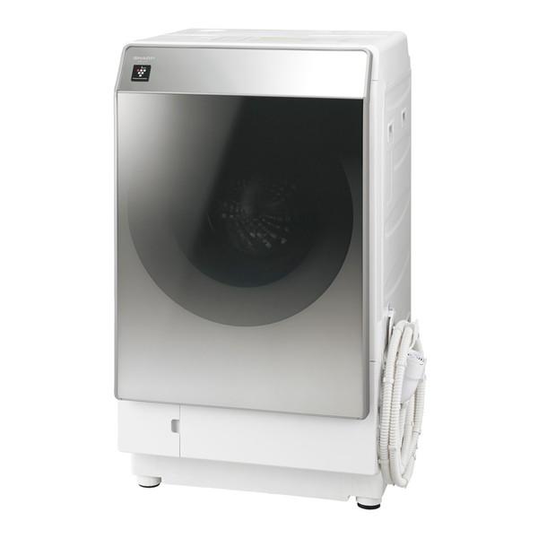 【送料無料】SHARP ES-P110-SL シルバー系 [ドラム式洗濯乾燥機(洗濯11.0kg/乾燥6.0kg)左開き]