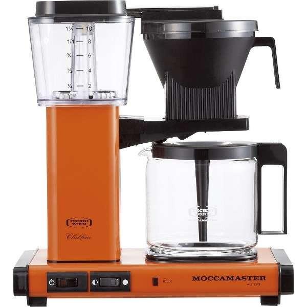【送料無料】TECHNIVORM MM741AO-OR オレンジ モカマスター [コーヒーメーカー]