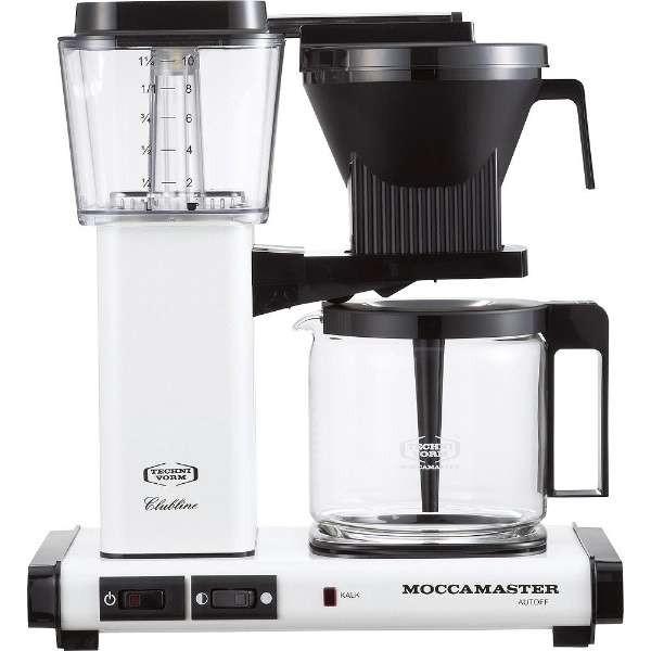 【送料無料】TECHNIVORM MM741AO-MW メタリックホワイト モカマスター [コーヒーメーカー]
