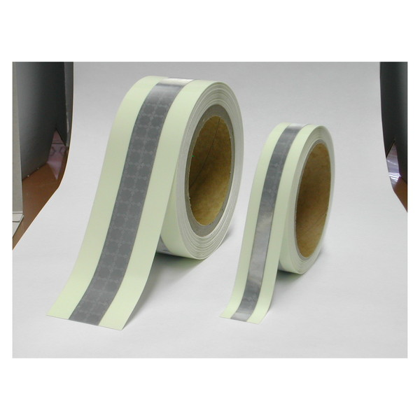 LTI RE5010 Refnous [再帰反射付高輝度蓄光テープ(幅50mm×10m)]
