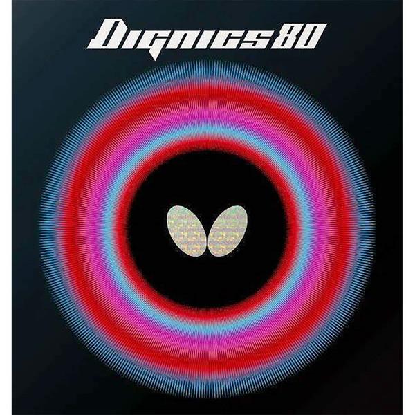 Butterfly ディグニクス80 ブラック 特厚 [卓球ラバー]